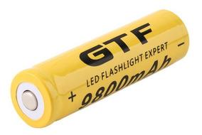 Gtf 18650 Bateria Recarregável 3.7 V 9800ma Lanterna