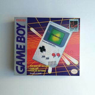 Caja Custom Repro Gameboy Nintendo Consolas Elegir Modelos