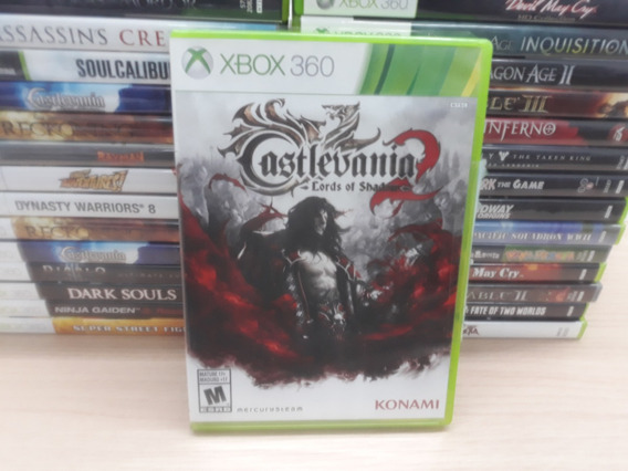 Jogo Castlevania Lords Of Shadows 2 Para Xbox 360
