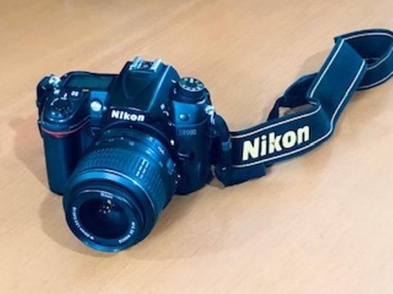 Câmera Digital Nikon D7000 Com Lente - Usado Sem Detalhes