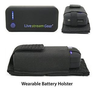 Livestream Gear Wearable Cargador De Batería | 5200 Mah Fue