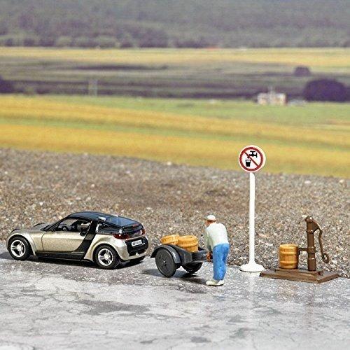 Busch 7683 Scene No Drinking Water Ho Scenery Modelo A Escal