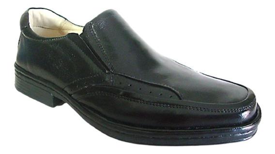 Sapato Adulto Masculino Conforto Rafarillo Em Couro 8911