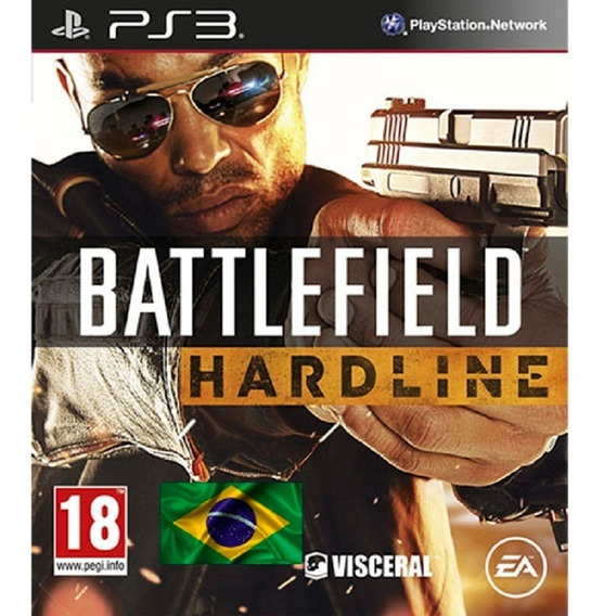 Ps3 Battlefield Hardline Dublado Portugues Brasil Play3