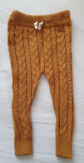 Pantalon De Lana Tejido Mini Anima Talle 2 A 3 Años