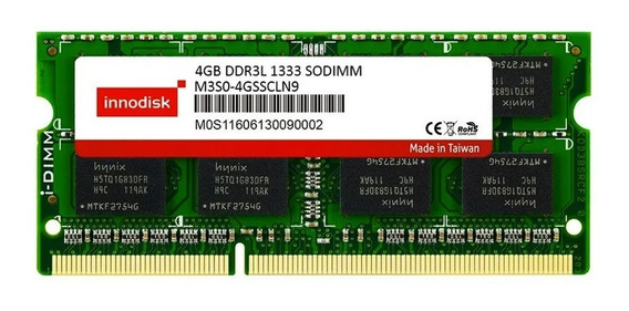Memoria Innodisk Ddr3 4gb 1333 Mhz Sodimm 1.5v