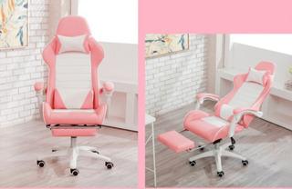 Cadeira De Escritório Chefe Rosa