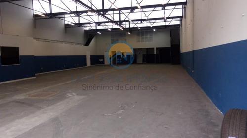 Galpão Para Locação Em São Paulo, Santo Amaro, 4 Banheiros - Gl048_2-966594