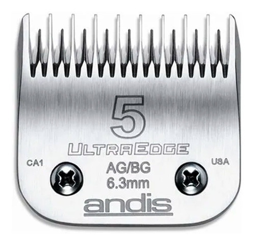 Cuchilla Andis 5 6,3mm Peladora Oster Oveja Negra Moser Gts