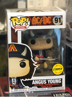 Ac/dc Angus Young Figura Funko Pop! Chase 91