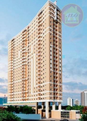 Apartamento À Venda, 46 M² Por R$ 216.000,00 - Parque São Vicente - São Vicente/sp - Ap4237