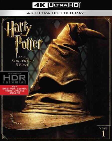 Harry Potter La Piedra Filosofal Año 1 Pelicula 4k Ultra Hd