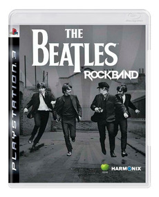 The Beatles Rock Band Ps3 Mídia Física
