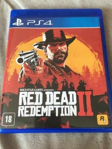 Jogo Ps4 Red Deasd Redemption Midia Fisica Semi-novo