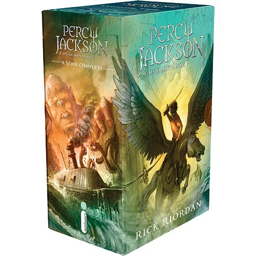 Box Percy Jackson E Os Olimpianos +guia Hbo Game Of Thrones