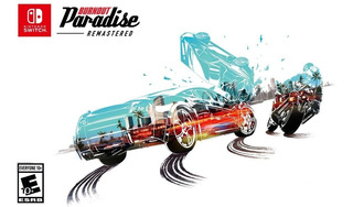 Burnout Paradise Remastered - Switch - Midia Fisica!