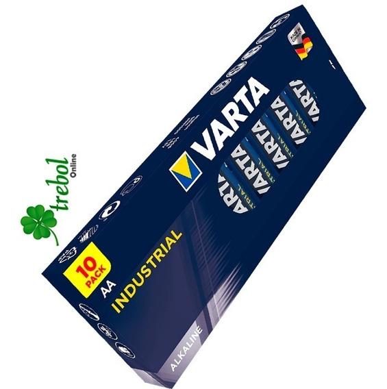 Bateria Alemana Varta Aa Alkaline Batteries - 10 Pack