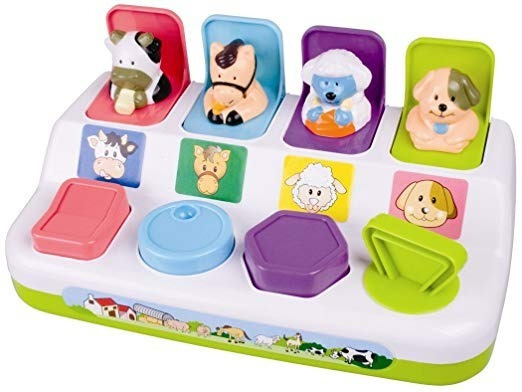My Precious Baby Pop-up Playset De Animales De Granja Pps
