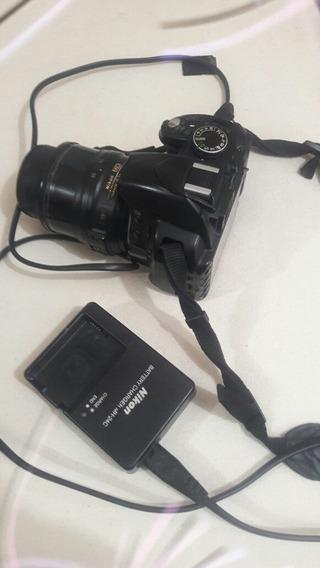 Câmera Nikon D3100 Baixe Pra Vender!aceito Troca!