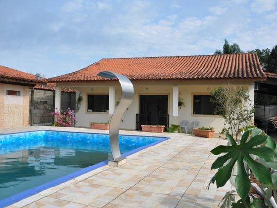 Casa Ampla E Confortável, Com Piscina, No Nova Cananéia - Ca00041 - 34366916
