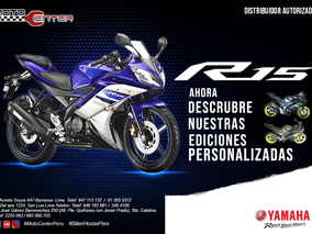 Motocilceta Yamaha Yzf-r15 V.2.0 Nuevo Oferta!!