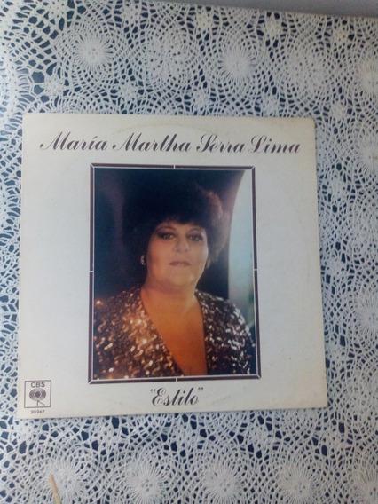 María Marta Serra Lima Estilo (disco De Vinilo)