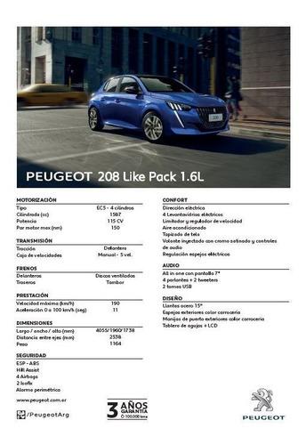 Peugeot 208 1.6 Like Pack (r)