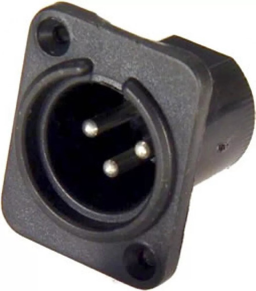 Kikit Conector Painel Canon Xlr Macho E Femea Sk068 - 84 Peç