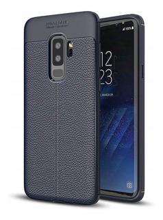 Capa Capinha Case Auto Focus Samsung Galaxy S9 Plus Azul