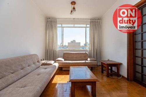 Apartamento Com 2 Dormitórios À Venda, 77 M² Por R$ 560.000 - Vila Mariana - São Paulo/sp - Ap7071