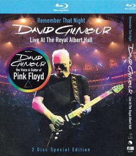 David Gilmour - Remember That Night ( Bluray Importado Usa)