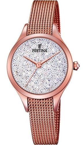 Reloj Festina Con Cristales Swarovski F20338.1