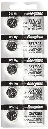 Imagen 1 de 1 de 357/303 Sr44sw - Energizer Pilas Sr44 W Lr Paqu