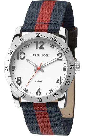 Relógio Masculino Technos Military 2036loz/0b Pulseira Nylon