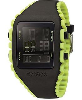 Reebok Workout Z1g Reloj De Cronografo Con Alarma De Silicon