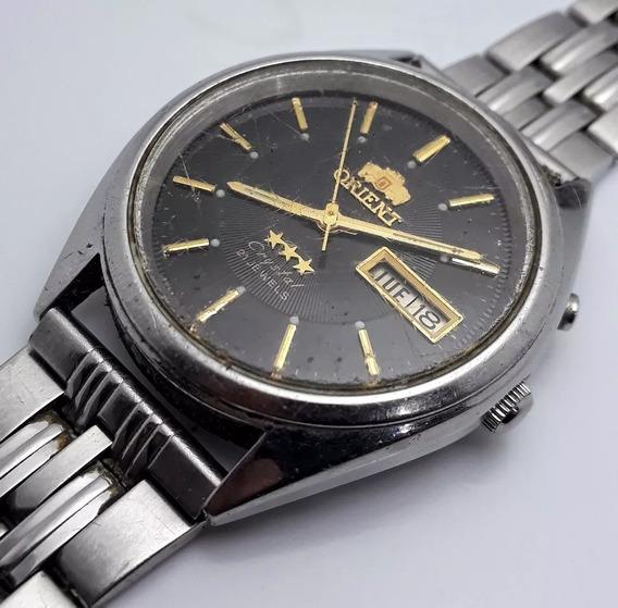 Relógio Orient Automático Cinza Para Restaurar