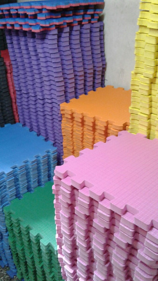 Piso Goma Eva 50x50x11mm Aproximado!!!! Fabricante Directo!!
