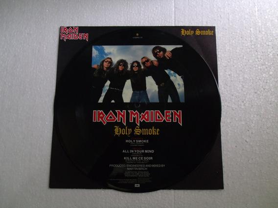 Iron Maiden - Holy Smoke - Lp (pictures), Edição 1990 - Imp.