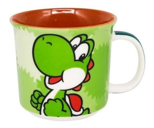Imagem 1 de 4 de Caneca Gamer Nintendo Super Mario Yoshi 350ml