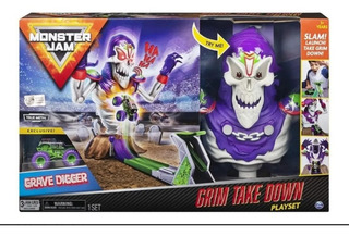 Pista Monster Jam Grim Take Down Esqueletos Envío Gratis