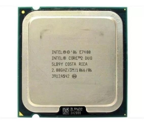 Processador Intel Core2duo Core 2 Duo 775 E7400 Lga Slb9y