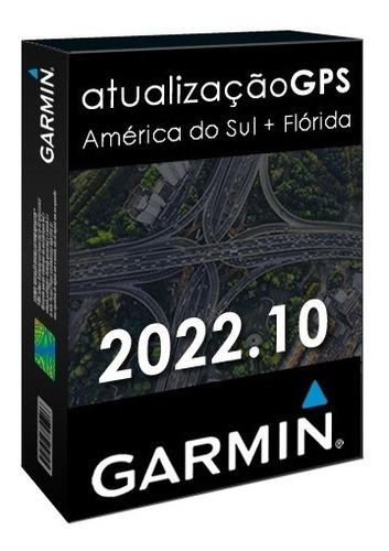Cartão Atualização Gps Garmin América Do Sul + Flórida