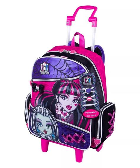 Mochilete Escolar Sestini Monster High 63590 Shop Tendtudo