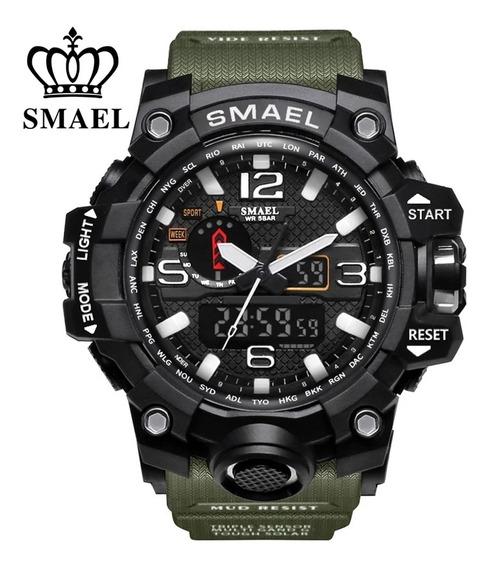 Relógio Masculino Esportivo Militar Smael 1545 S Shock