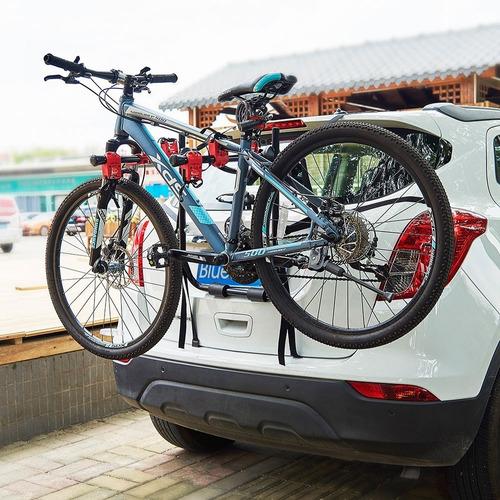 Porta Bicicletas X3 Soporte Carro Ciclas Carga Bike Transpor