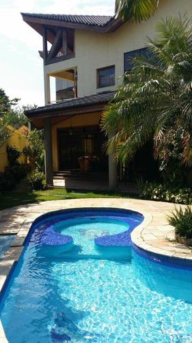 Casa Residencial Para Venda E Locação, Residencial Dezoito Do Forte (alphaville), Santana De Parnaíba. - Ca12395