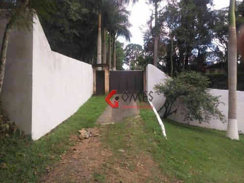 Imagem 1 de 12 de Chácara Com 5 Dormitórios À Venda, 5500 M² Por R$ 765.000 - Riacho Grande - São Bernardo Do Campo/sp - Ch0035