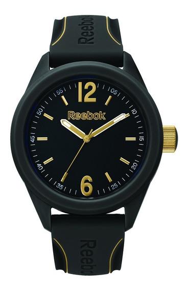 Reloj Hombre Negro Y Dorado Rfsdsg2pbibb3 -reebok Watches