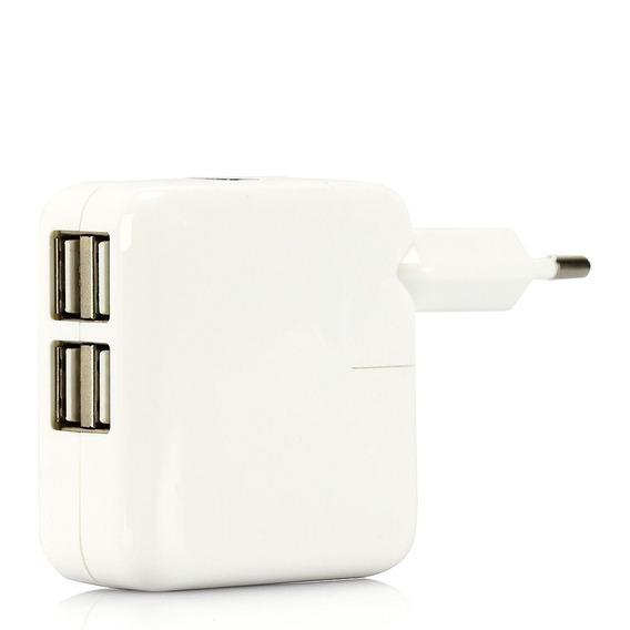 Carregador Para iPhone, iPad E iPod Com 4 Portas Usb