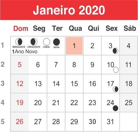 Seria Calendario 2020.1000 Un Calendario 2020 P Ima De Geladeira 5x5 Cm 2 Cores